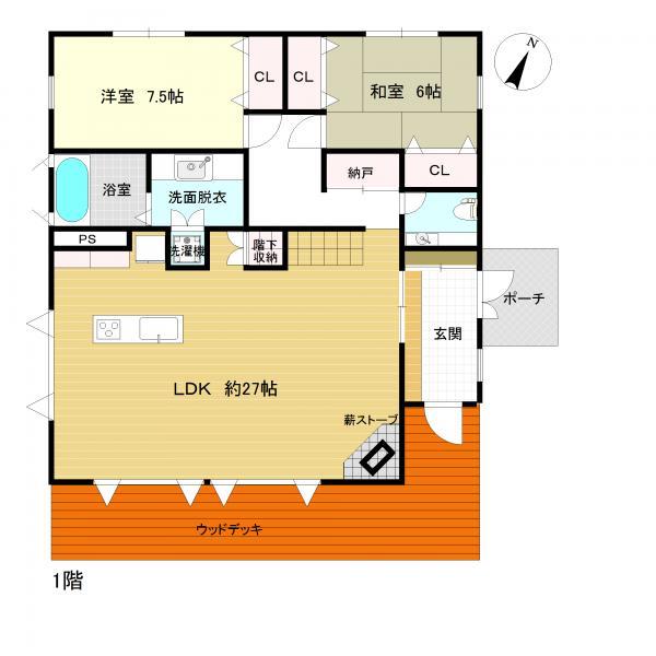 【柳宿新築戸建】眺望良好な木造2階建て