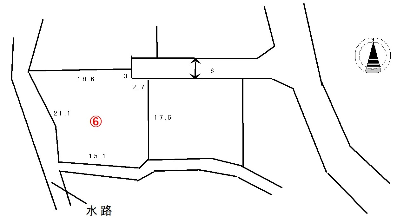 商談中【中軽井沢南土地(区画⑥)】中軽井沢駅より徒歩5分、便利な立地の日当たりの良い土地