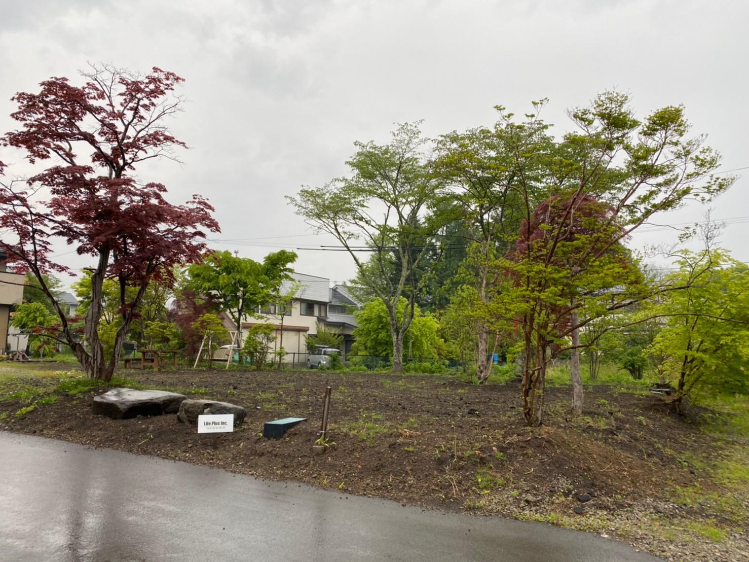 販売一時停止【中軽井沢土地】軽井沢18号バイパス近隣土地