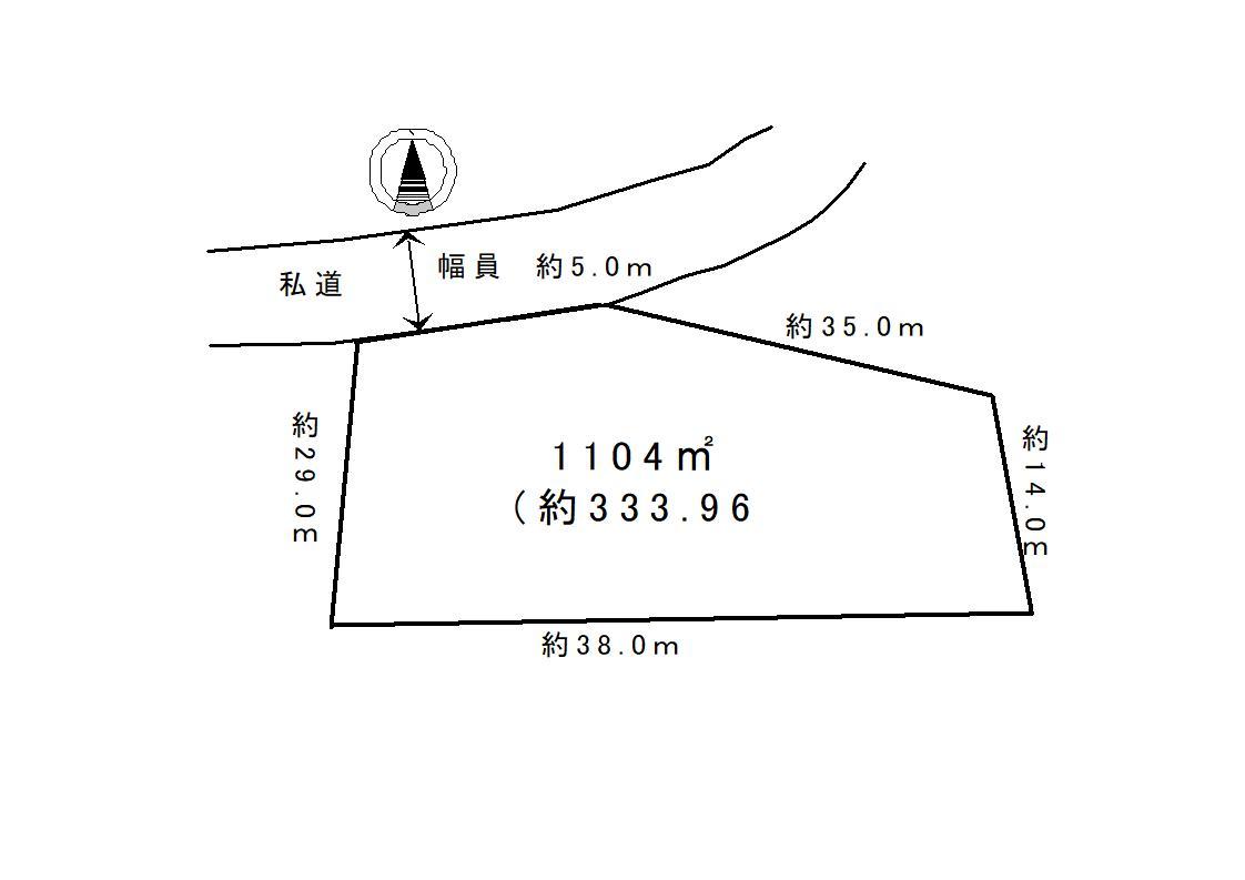 【土地】八風の郷_300坪超えの緑豊かな地