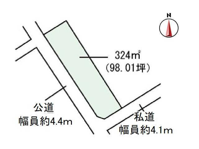【浅間山 土地】お庭のお手入れも簡単なコンパクトな土地