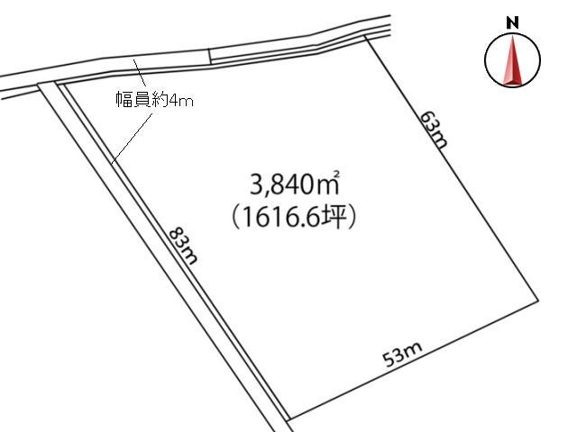 【中軽井沢 土地】中軽井沢カントリークラブ付近の広大な土地