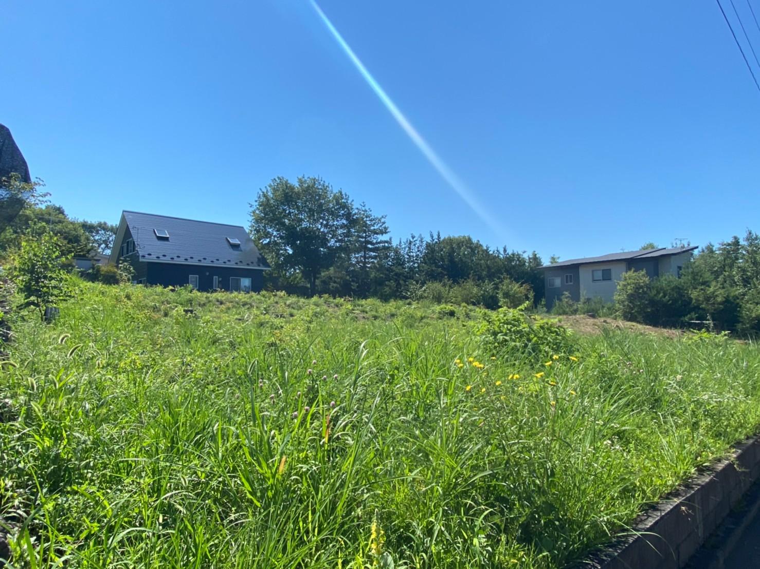 【追分土地】開放的な浅間山ビューの別荘地