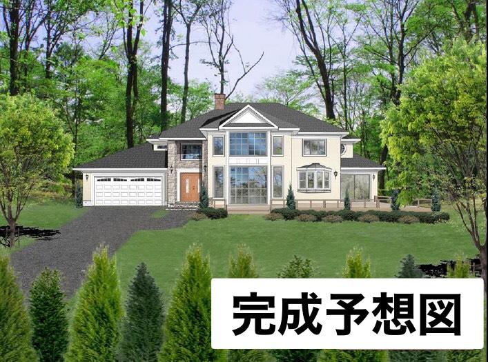 【南軽井沢_戸建】高級新築アメリカンハウス ザ・テラス別荘地23区画