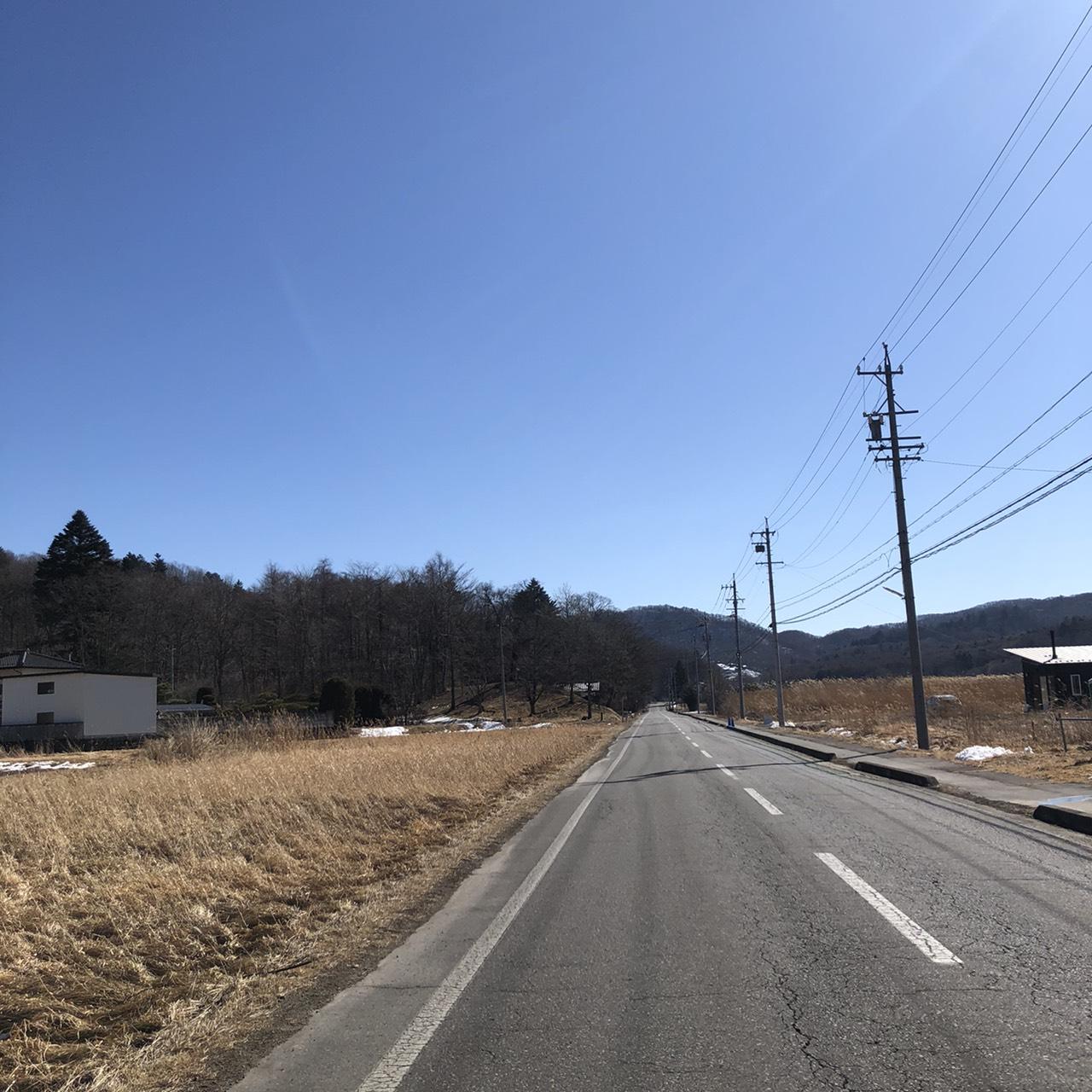 【南軽井沢_土地】浅間山を望む広大な土地