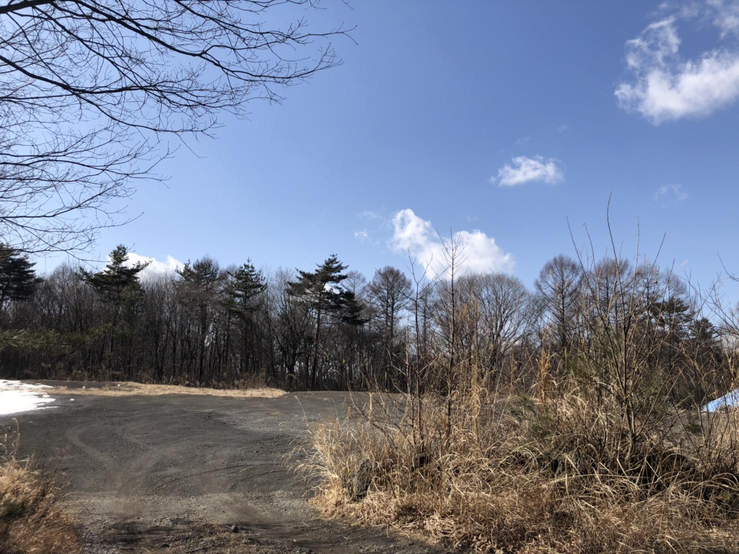 【西軽井沢_土地】浅間山を望む広大な土地