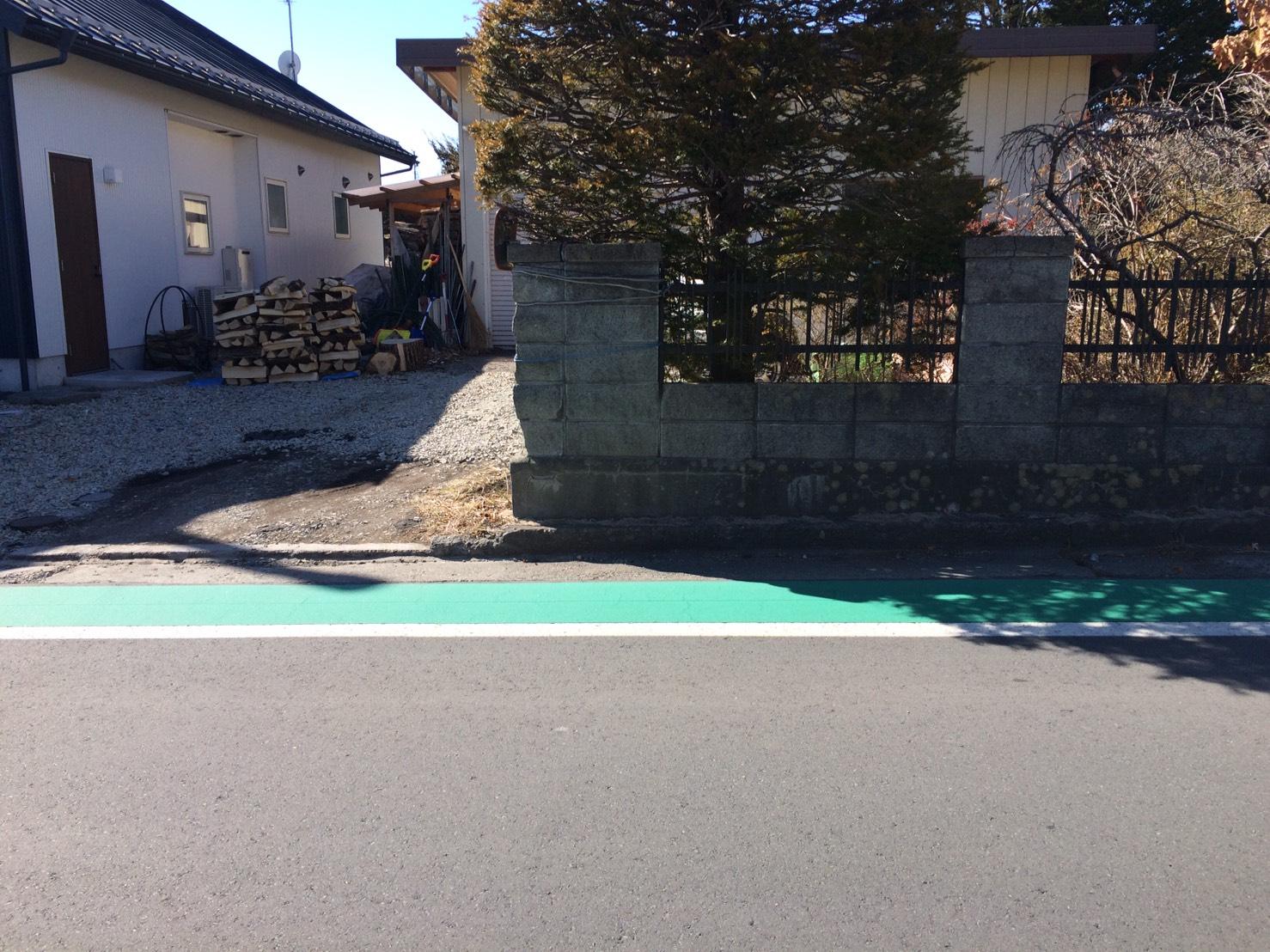 【西軽井沢_土地】日当たりの良い利便性のある土地